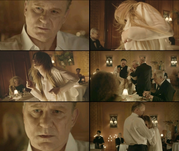 Stellan Skarsgård in Sadness is a Blessing