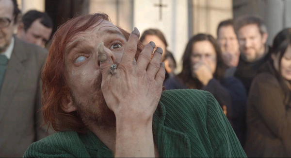 "DENIS LAVANT ""Mounsier Merde"" in HOLY MOTORS [LEOS CARAX 2012]"
