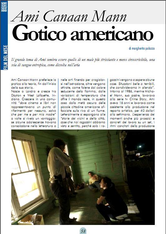 AMI CANAAN MANN - GOTICO AMERICANO