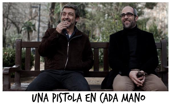 Ricardo Darín e Luis Tosar- UNA PISTOLA EN CADA MANO