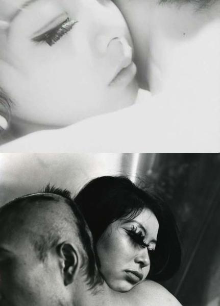 """Bara no sôretsu [Toshio Matsumoto, 1969]  VS Shomei Tomatsu: Untitled from the series """"Eros"""", Tokyo, 1969"""