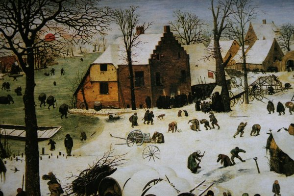 The Census at Bethlehem [Pieter Bruegel the Elder]