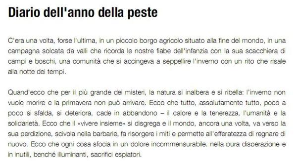 Diario dell'anno della peste - La cinquième saison